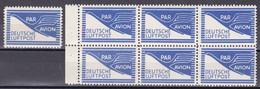 Men_ All. Besetzung Bizone 1948 - Mi.Nr. FZ 1 - Postfrisch MNH - Flugpost-Zulassungsmarken - American/British Zone
