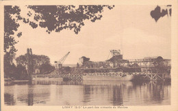 78 - LIMAY / LE PORT DES CIMENTS DE MANTES - Limay