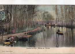 B71156 Cpa Combs La Ville - Bords De L' Yerres - Combs La Ville