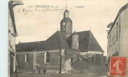 FROSSAY - L'église, Lot De Deux Cartes. - Frossay