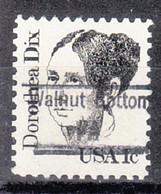 USA Precancel Vorausentwertung Preo, Locals Pennsylvania, Walnut Bottom 843 - Prematasellado
