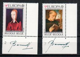 BELGIUM   1972/1973  **  MNH  CEPT - Bélgica