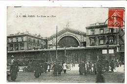 CPA-Carte Postale- France-Paris- Gare De L'Est -1918  VM21882 - Métro Parisien, Gares