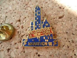 PIN'S   MARATHON  VILLENEUVE A NEW YORK - Leichtathletik
