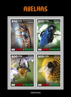 Guinea Bissau.  2020 Bees. (0204a)  OFFICIAL ISSUE - Abeilles