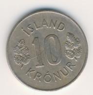 ICELAND 1974: 10 Kronur, KM 15 - IJsland