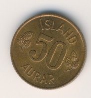 ICELAND 1971: 50 Aurar, KM 17 - Iceland