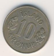 ICELAND 1970: 10 Kronur, KM 15 - Iceland