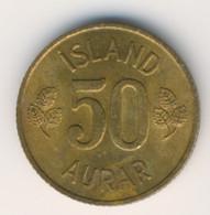 ICELAND 1969: 50 Aurar, KM 17 - Iceland