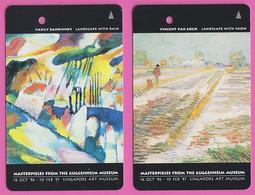 Singapore Transport Subway Train Bus Ticket Card Transitlink Used Art Paintings - Metro