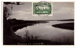 Latvia Lettland DAUGAVA PIE LIEVARDES Real Photo 1932 - Letonia