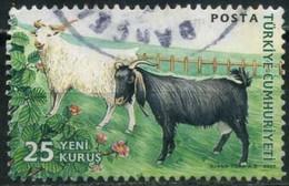 Turkey 2007 - Mi. 3591 O, Goat (Capra Aegagrus Hircus) - 1921-... Republic