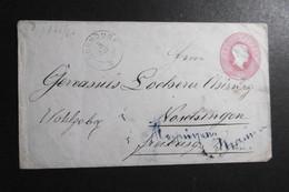 Baden Mi. GA U 9A Von Bonndorf-fehlgeleitet Freiburg 6.11.1867 Mit Bahnpost Dann Nach Krotzingen AK L2-selten - Baden