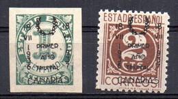 Sellos Nº NE10 Y 13 Santa Cruz De Tenerife - Emissioni Repubblicane