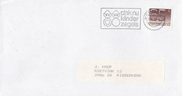 Nederland - Vlagstempel -  Plak Nu Kinderzegels - NVPH 1116 - Postal History