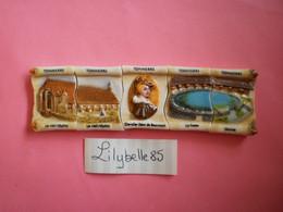 Serie Complète De 5 Feves Perso En Porcelaine - THIEBERT - MATHELIN 2011 ( Feve Figurine Miniature ) Rare - Regiones