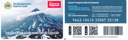 Transport  Card  Russia. Petropavlovsk - Kamchatskyi ( Little  Town) New - Russland