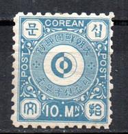 Sello Nº 2 Corea - Corea (...-1945)