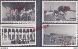 Fixe Italie Italia Scoutisme Campement Catacombes St Caliste Rome Palerme Montée Vésuve Capri Bateau Città Tunisia 1938 - Scouting