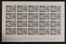 PROGRESSIVE COLOUR IMPERF PROOFS 1986Tourism Complete Set (SG 710/23) - Each Value With Seven Different Progressive Col - Montserrat