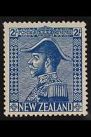 1926-34 2s Light Blue On Cowan Paper, SG 469, Fine Mint. For More Images, Please Visit Http://www.sandafayre.com/itemdet - New Zealand