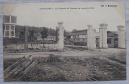 02 SOISSONS La Verrerie De Vauxrot En Reconstruction - Soissons