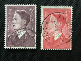 1948/58. Boudewijn OBP; 879 - 1075. ( ELSENE / AVELGEM ) - Marcophilie