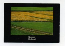 CP Finlandaise Utilisée. Suomi Finland Finlande. Champs, Fields, Felden. (c) Allora Oy / StudioLauri Kanerva. Agfachrome - Finlandia