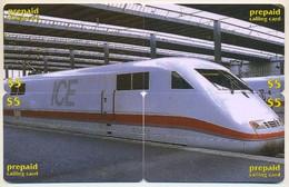 Train, CTOA, 4 Prepaid Calling Cards $5, PROBABLY FAKE, # Tren-10 - Treni