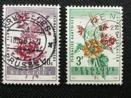 1960. OBP: 1122/23. ( GENT - BRUSSEL) - Marcophilie