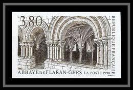France N°2659 Abbaye De Flaran Gers (église Church) Non Dentelé ** MNH (Imperforate) - Non Dentellati