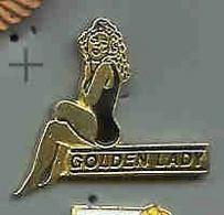 @@ Pin-ups Golden Lady  (2x2.3) @@pi62 - Pin-ups