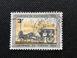 1963. OBP;1249. Dag Van De Postzegel. ( CHARLEROI) - Marcophilie