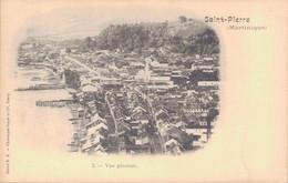 SAINT PIERRE DE LA MARTINIQUE / VUE GENERALE - Martinique
