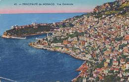 Monaco : Vue Générale (CP Non-écrite) - Monte-Carlo