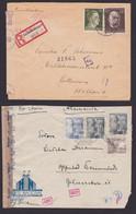 2 X ZENSUR : Oberkommando Der Wehrmacht Briefhüllen. Dabei 1 X Aus Spanien Und 1 X Einschreiben Nach Rotterdamm Holland - 1939-45