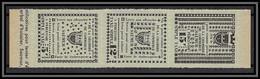 85493/ Maury N°4/6 Grève De Saumur 1953 Cote 75 Euros Vert Clair Bande - Sciopero