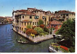 Italie Veneto Venezia Venise Canal Grande Ponte Dell Accademia Grand Pont Academie Rinée Le Mans Barque Gondole - Venezia