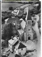 MONTSAUCHE (58) Vue Aérienne De L'Eglise Cim 25228, Cpsm GF - Montsauche Les Settons