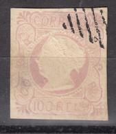 "PORTUGAL  1853  DONA MARIA II  100 R  USED   ""REIMPRESSION""??? - Used Stamps"