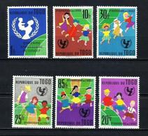 Togo Nº 344/9 Nuevo - Togo (1960-...)