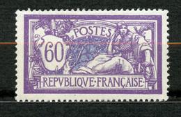 France, Yvert 144**, Merson 60c, Très Bon Centrage, MNH - 1900-27 Merson