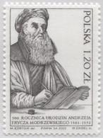 POLAND 2003 Mi 4045 Andrzej Frycz Modrzewski Was A Polish Renaissance Scholar, Humanist And Theologian MNH** - Teologi