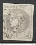 1er SERVI N°41B Limite Foncé Non Compté TBE Cote 340€ - 1870 Emisión De Bordeaux