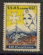 SIAS UGT - GIRONA - Vignette Della Guerra Civile