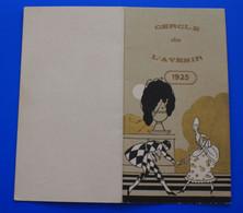 1925 -☛ ARLES-SUR-RHÔNE FAIRE PART INVITATION AU BAL SALON DU CERCLE DE L'AVENIR -☛CARTE-DE MEMBRE-GILLES JEAN - Mededelingen