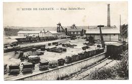 D  81 MINES De CARMAUX  Siege Sainte Marie - Carmaux