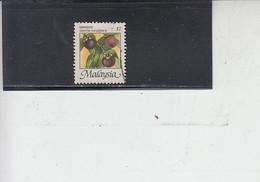 MELESIA  1986 - Yvert 346° - Frutta - Malaysia (1964-...)