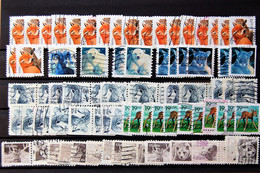USA US - Accumulation Of Stamps Used With Wildlife Subject  > 60 Stamps - Sammlungen