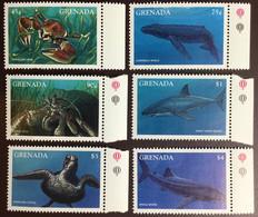 Grenada 1997 Marine Life Turtles Crabs Whales Sharks MNH - Marine Life